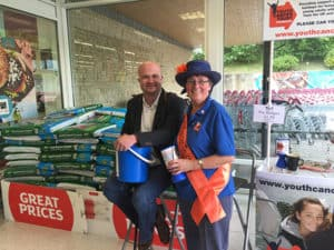 Youth Cancer Trust - Charity of the year - Sainsbury's Bradford on Avon