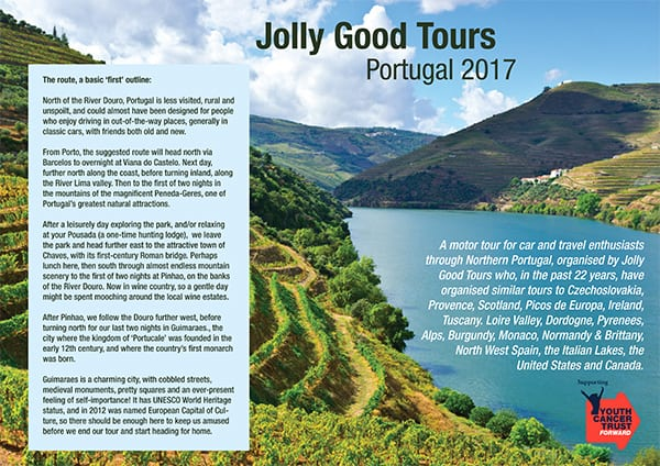 Jolly Good Tours - Portugal 2017