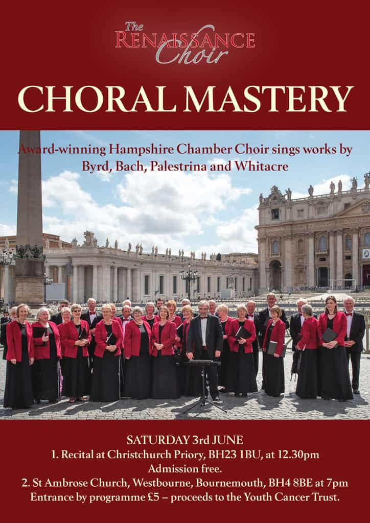 Choral Mastery – Second Concert