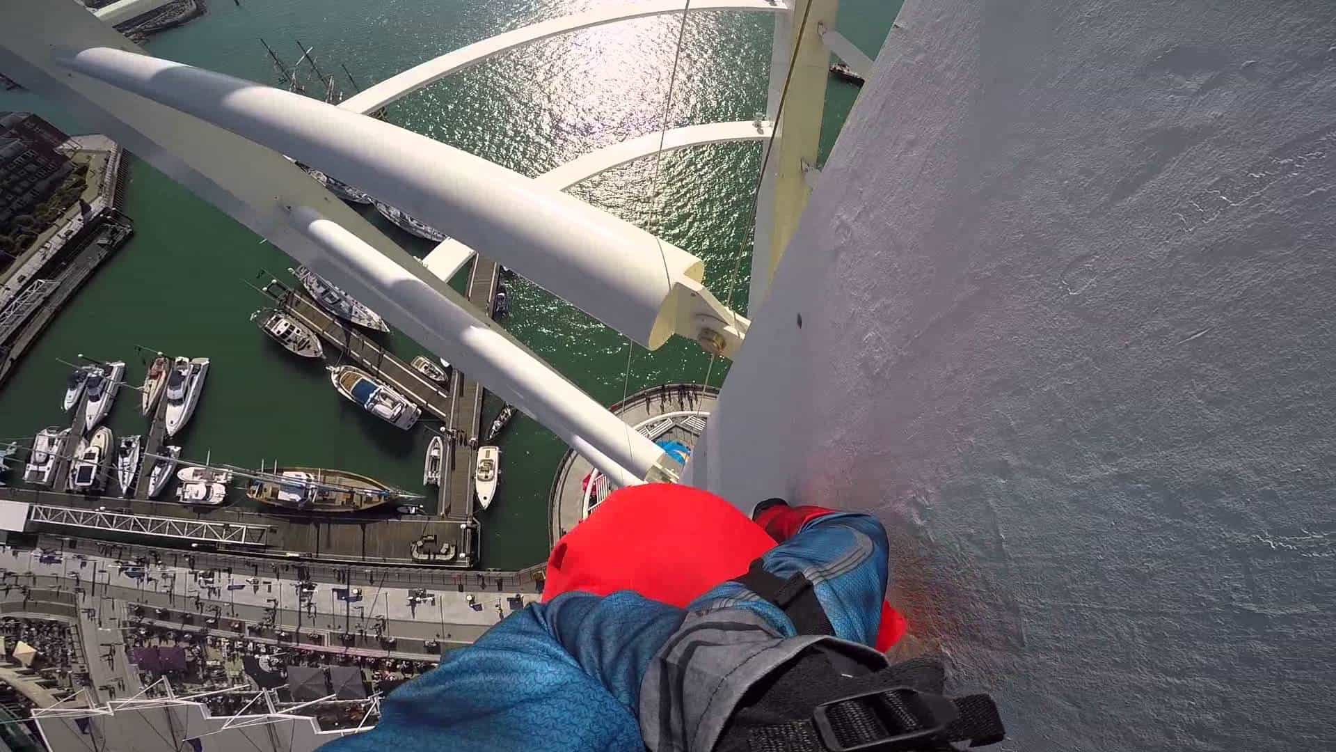 Abseil the Iconic Emirates Spinnaker Tower!