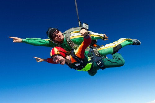 Take Part In A Tandem Skydive!