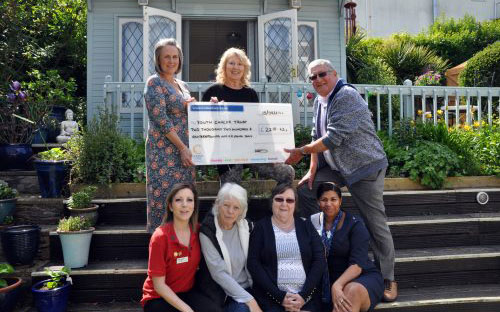 Colten Care's dedicated dementia home The Aldbury donated £2,218.62