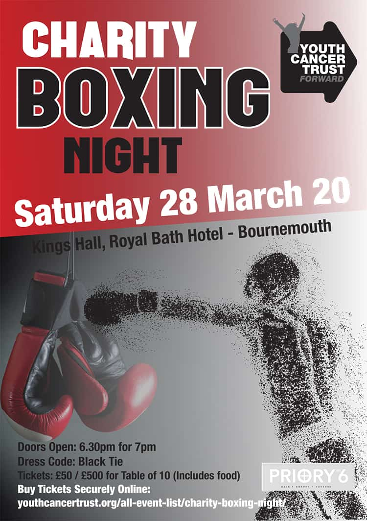 Charity Boxing Night 28th March 2020