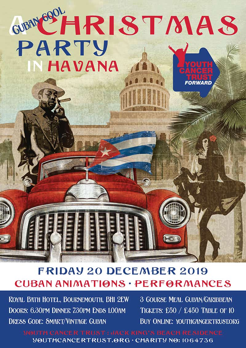 Cuban Christmas Party - Youth Cancer Trust