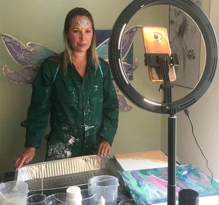 Digital Magical Paint Pour Workshops